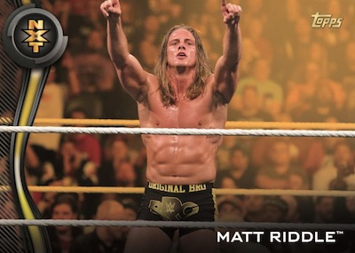 2019 Topps WWE NXT Wrestling Cards 2