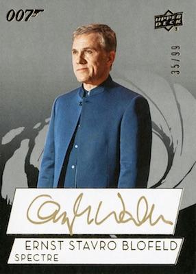 2019 Upper Deck 007 James Bond Collection Trading Cards 7