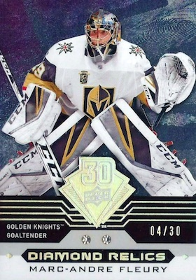 2019 Upper Deck 30th Anniversary Diamond Relics Cards 12
