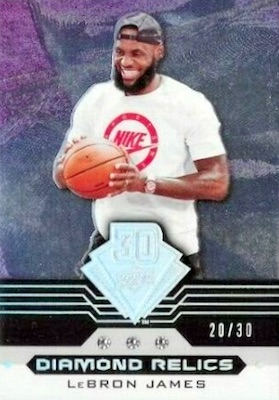 2019 Upper Deck 30th Anniversary Diamond Relics Cards 19