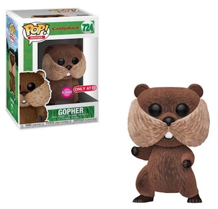 Funko Pop Caddyshack Vinyl Figures 8