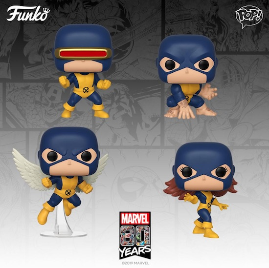 Funko Pop Marvel 80th Vinyl Figures 1