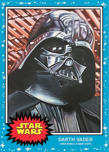 Topps Living Set Star Wars Trading Cards Checklist Breakdown 1