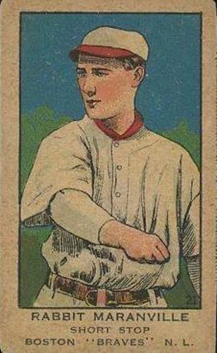 Top 10 Rabbit Maranville Baseball Cards 3
