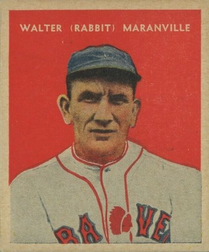 Top 10 Rabbit Maranville Baseball Cards 8