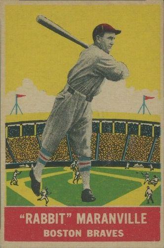 Top 10 Rabbit Maranville Baseball Cards 6