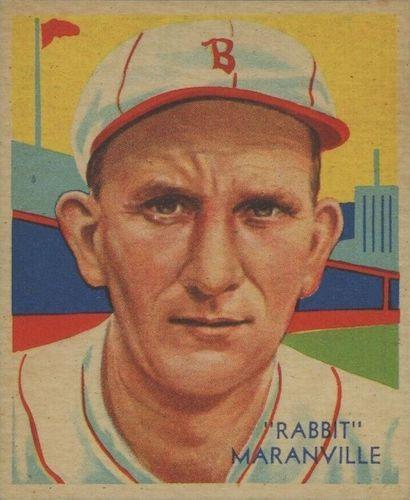 Top 10 Rabbit Maranville Baseball Cards 5