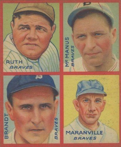 Top 10 Rabbit Maranville Baseball Cards 7
