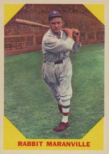 Top 10 Rabbit Maranville Baseball Cards 2