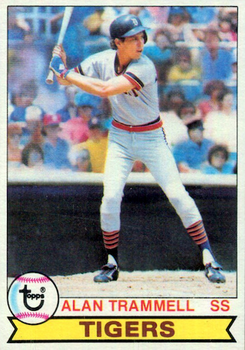 Top 10 Alan Trammell Baseball Cards 2