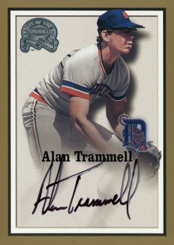 Top 10 Alan Trammell Baseball Cards 8
