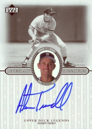 Top 10 Alan Trammell Baseball Cards 9
