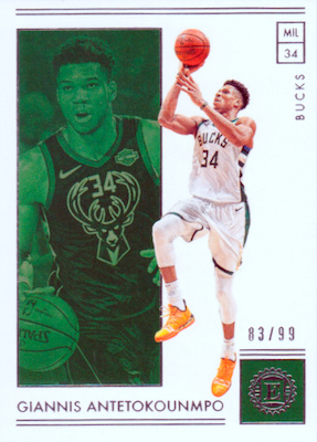 2018-19 Panini Encased Basketball Cards 28