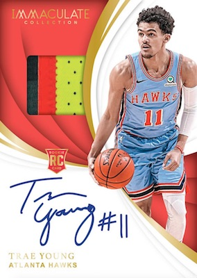 2018-19 Panini Immaculate Collection Basketball Cards 3