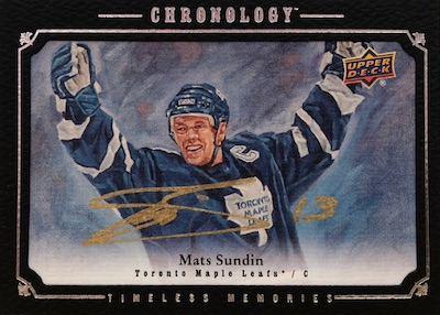 2018-19 Upper Deck Chronology Hockey Cards 31