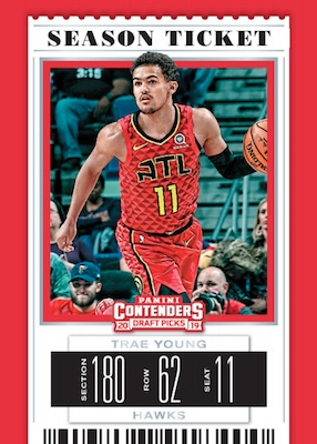 2019-20 Panini Contenders Draft Picks Basketball Cards 3