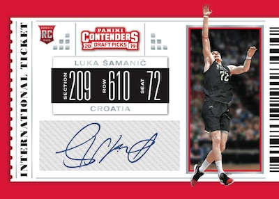 2019-20 Panini Contenders Draft Picks Basketball Cards 6