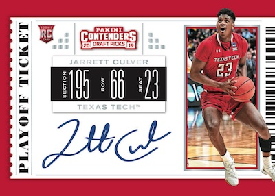 2019-20 Panini Contenders Draft Picks Basketball Cards 5