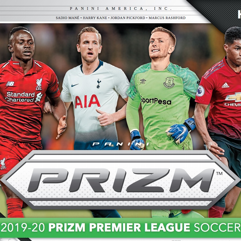 2019-20 Panini Prizm Premier League Soccer Cards – Early Checklist