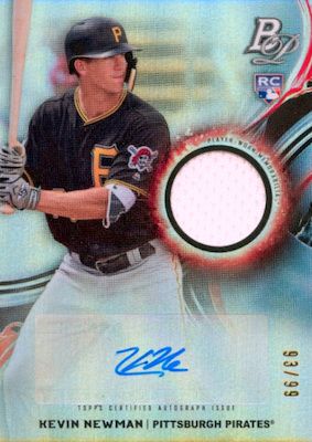 2019 Bowman Platinum Baseball Cards - NBCD Hanger 31