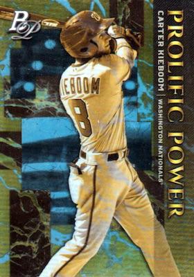 2019 Bowman Platinum Baseball Cards - NBCD Hanger 34