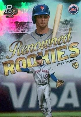 2019 Bowman Platinum Baseball Cards - NBCD Hanger 35