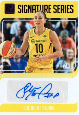 2019 Donruss WNBA Basketball Cards 28