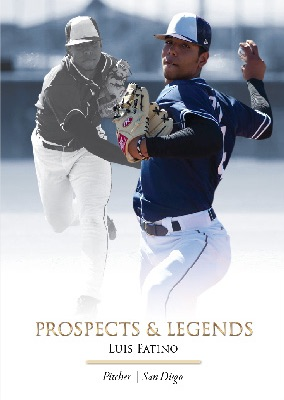2019 Futera Unique Onyx Prospects & Legends Baseball Cards 3