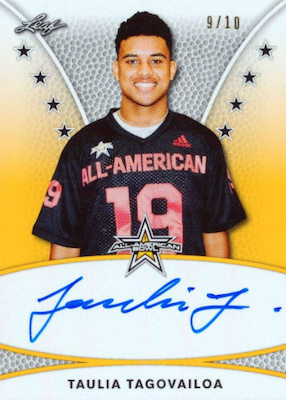 2019 Leaf Metal All-American Bowl Football Cards 5