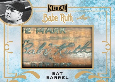 2019 Leaf Metal Babe Ruth Collection Baseball Cards - Special Edition Box 2