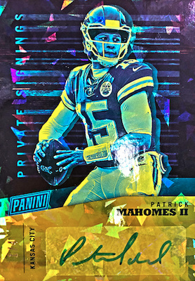 2019 Panini National Convention Wrapper Redemption Cards 4