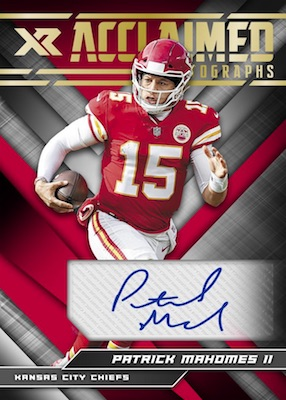 2019 Panini XR Football Cards 8