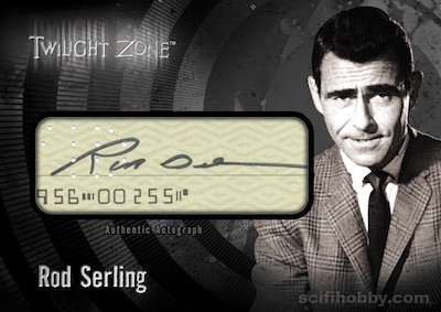 2019 Rittenhouse Twilight Zone Rod Serling Edition Trading Cards 5