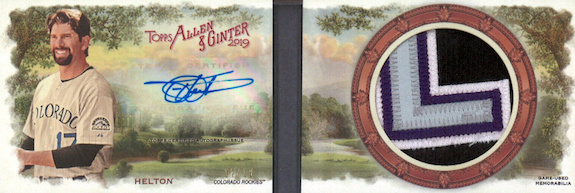 2019 Topps Allen & Ginter Baseball Cards 47