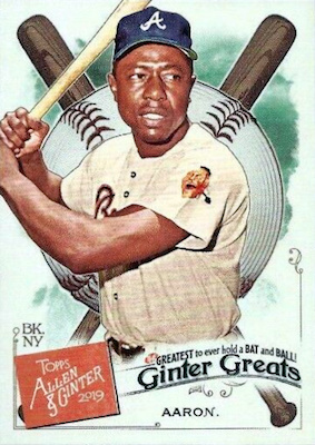 2019 Topps Allen & Ginter Baseball Cards 57