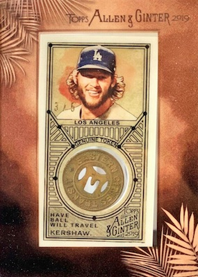 2019 Topps Allen & Ginter Baseball Cards 55