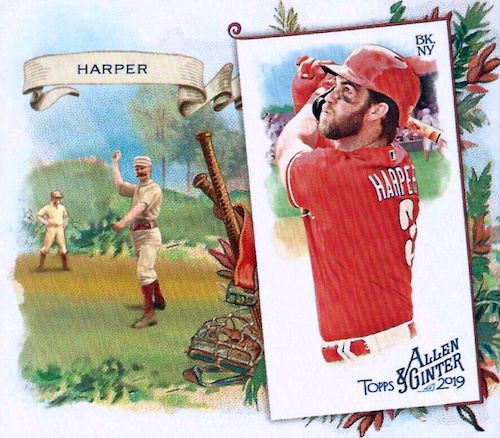 2019 Topps Allen & Ginter Baseball Cards 76