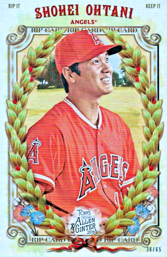 2019 Topps Allen & Ginter Baseball Cards 78