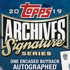 2019 Topps Archives Signature Series Active Player Edition Baseball Cards