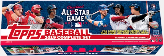 2019 Topps Baseball Complete Factory Set Exclusive Cards 8