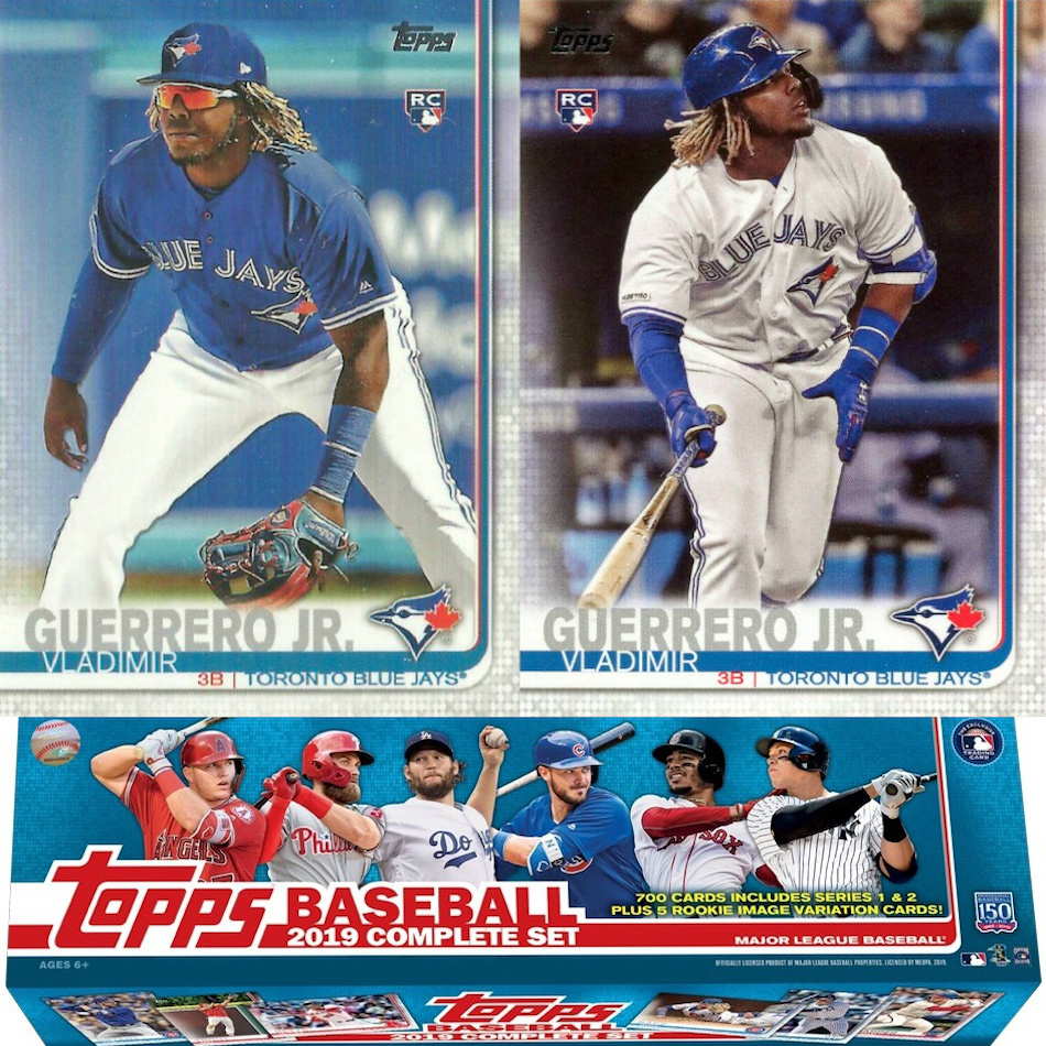 2019 Topps Baseball Factory Set Rookie Variations Checklist Gallery