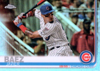 2019 Topps Chrome Baseball Variations Gallery 18