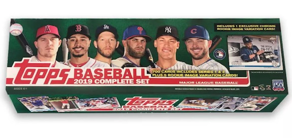 2019 Topps Chrome Rookie Variations Factory Set Gallery 4