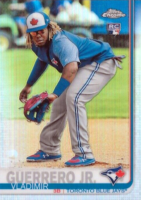 Top Vladimir Guerrero Jr. Rookie Cards and Prospects 10