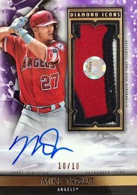 2019 Topps Diamond Icons Baseball Cards 30