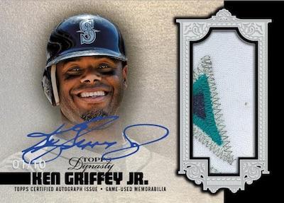 2019 Topps Dynasty Baseball Cards 3