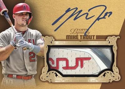 2019 Topps Dynasty Baseball Cards 6