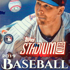 2019 Topps Stadium Club 1-300 Baseball