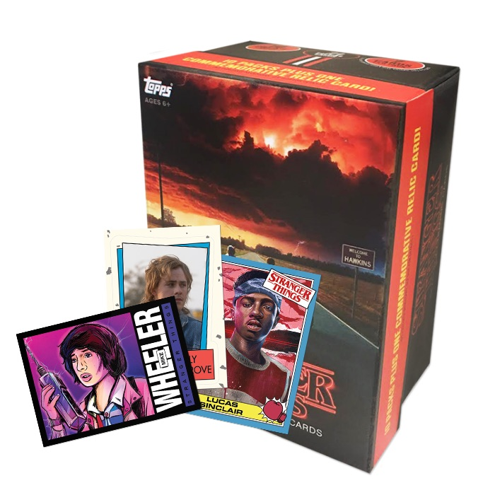 2019 Topps Stranger Things 1985 Online Exclusives Guide 1