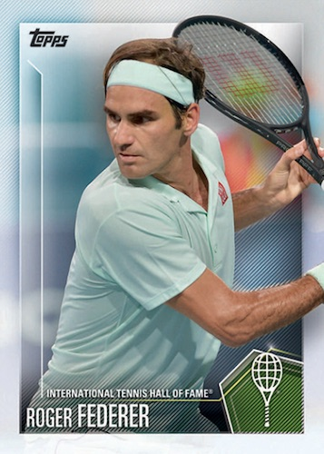 2019 Topps Tennis Hall of Fame Cards 1